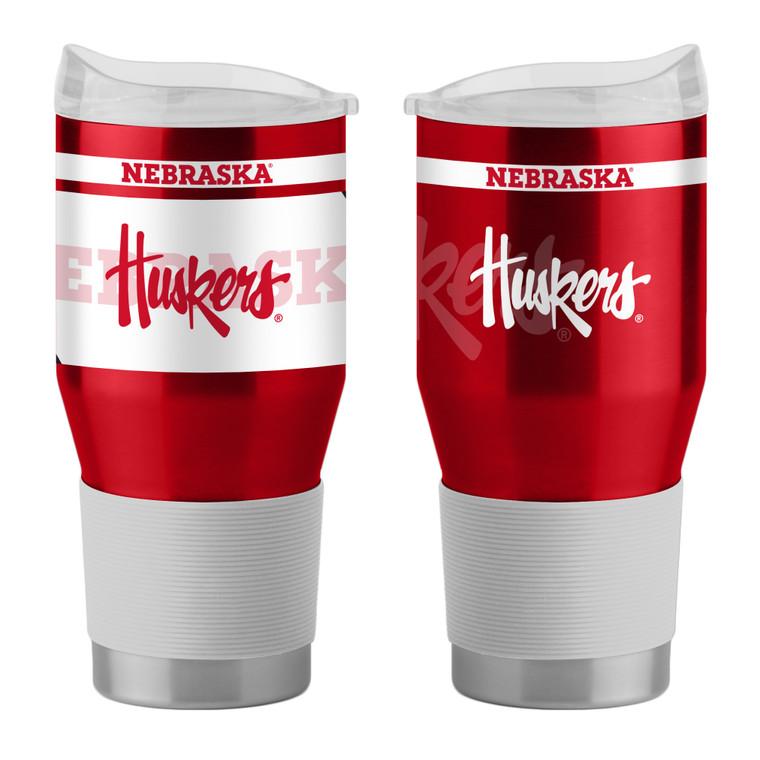 Nebraska Cornhuskers Travel Tumbler 24oz Ultra Twist