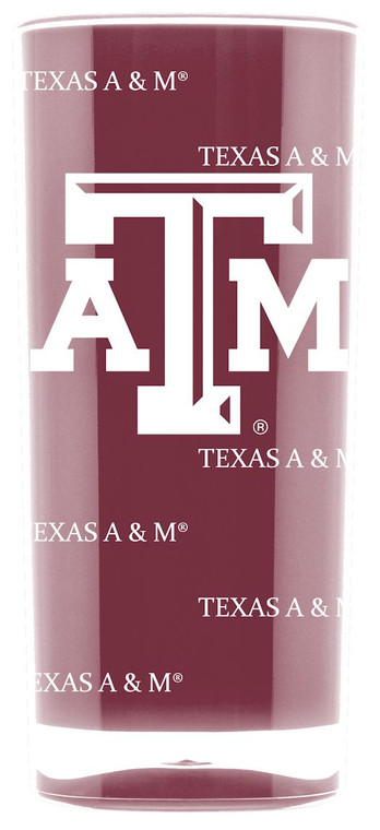 Texas A&M Aggies Tumbler Square Insulated 16oz Special Order