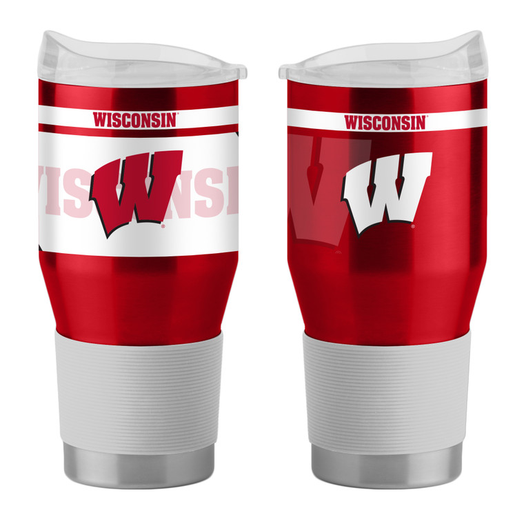 Wisconsin Badgers Travel Tumbler 24oz Ultra Twist Special Order