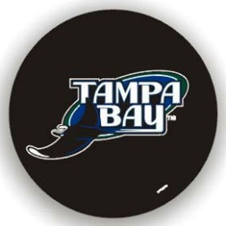 Tampa Bay Rays Tire Cover Standard Size Black Special Order