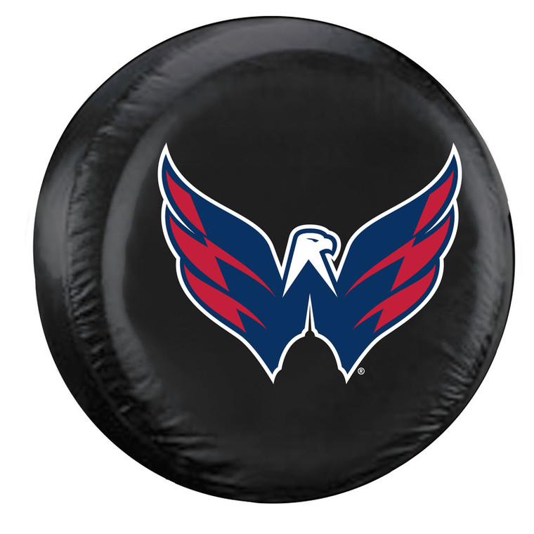 Washington Capitals Tire Cover Standard Size Black Special Order