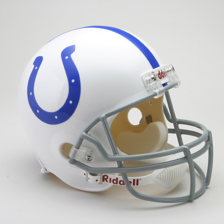 Indianapolis Colts Helmet Riddell Replica Full Size VSR4 Style 1959-1977 Throwback Special Order