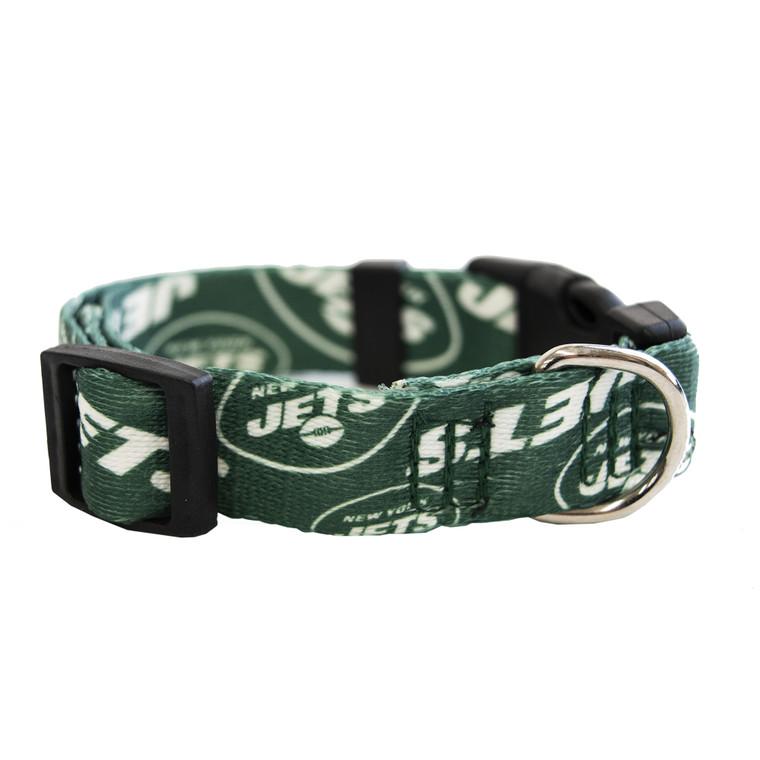 New York Jets Pet Collar Size S