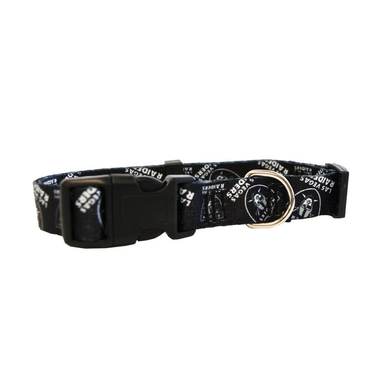 Las Vegas Raiders Pet Collar Size L