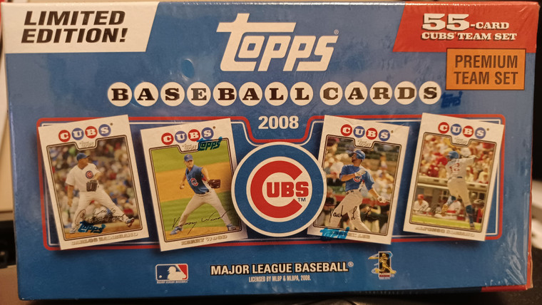 Chicago Cubs 2008 Topps Factory Gift Set