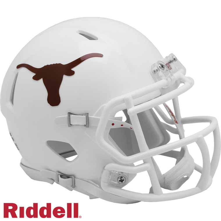 Texas Longhorns Helmet Riddell Replica Mini Speed Style