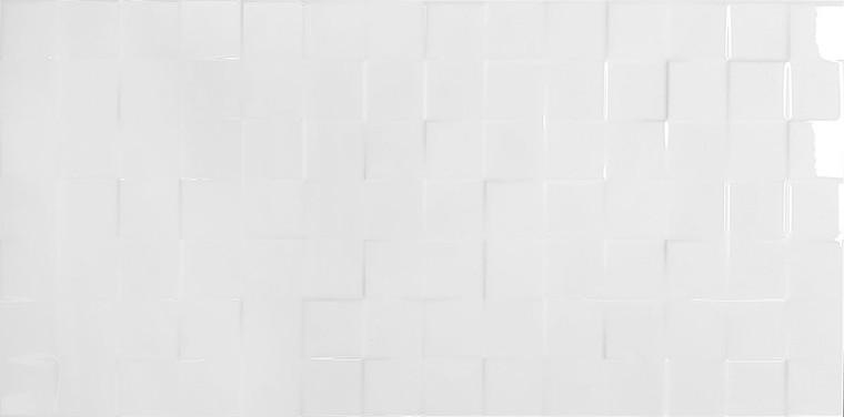 Novo White Deco Gloss 30x60