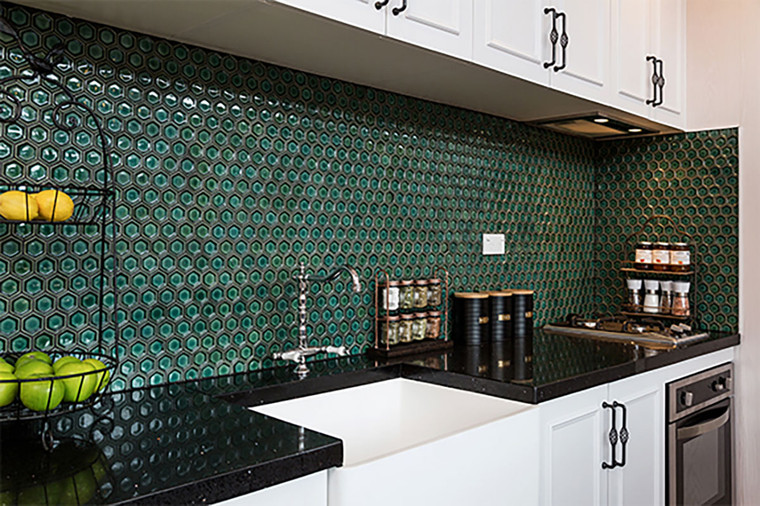 Concave Blend Green Gloss Hex