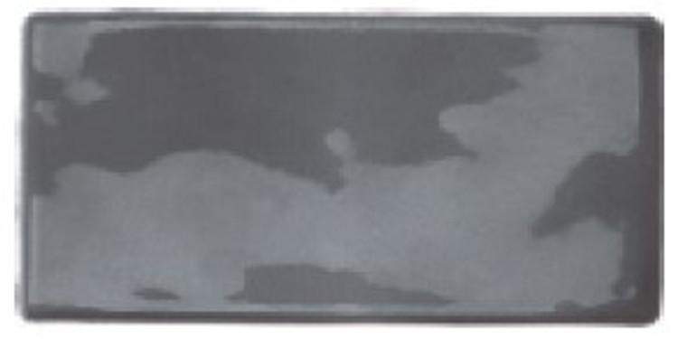 Luxe Smoke Grey Gloss 7.6x15.2