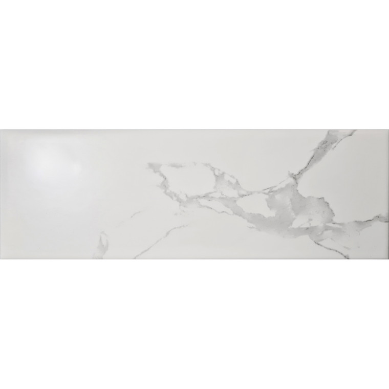 Carrara White Gloss 10x30