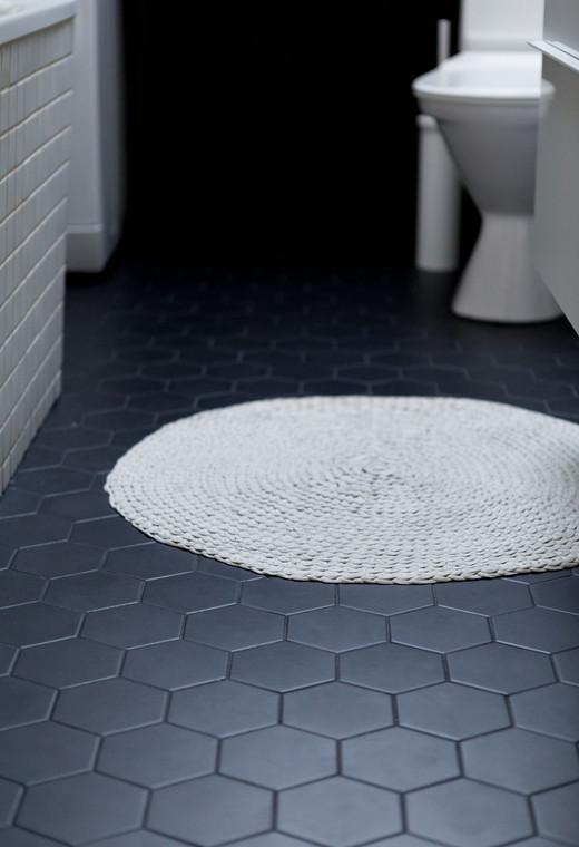 Black Matt Hexagon 95mm