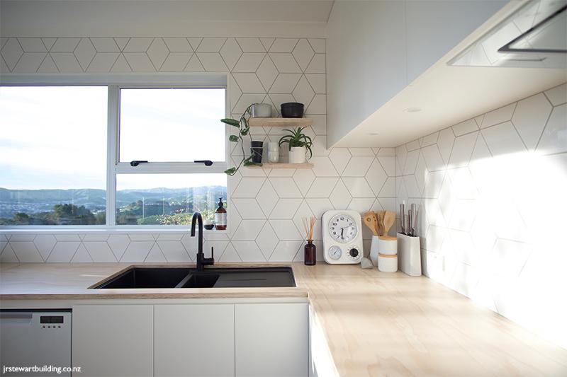 Sleek Scandi Style Tile Space