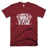 Saving the World - Short-Sleeve T-Shirt