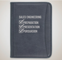 SE Premium Zippered Padfolio