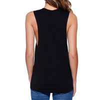 Fierce And Fabulous Work Out Muscle Tee Gym Sleeveless Tank