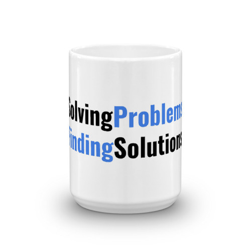 Solving Problems Finding Solutions Mug