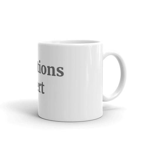 Solutions Expert b/w Mug