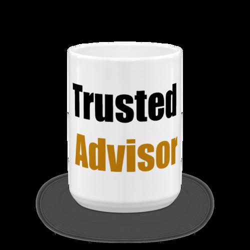 Trusted Advisor Black/Orange Mug