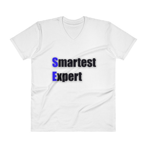 Smartest Expert V-Neck T-Shirt