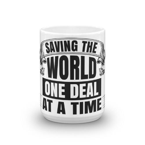 Saving the World Mug for Sales Engineers