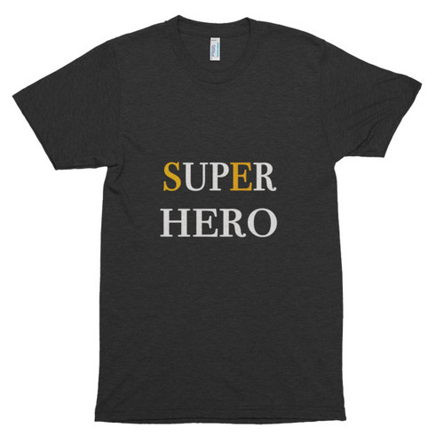 Superhero - Short sleeve soft t-shirt