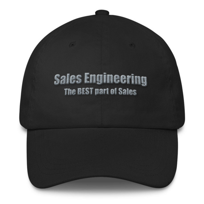 Sales Engineering (White/Grey) Classic Dad Cap