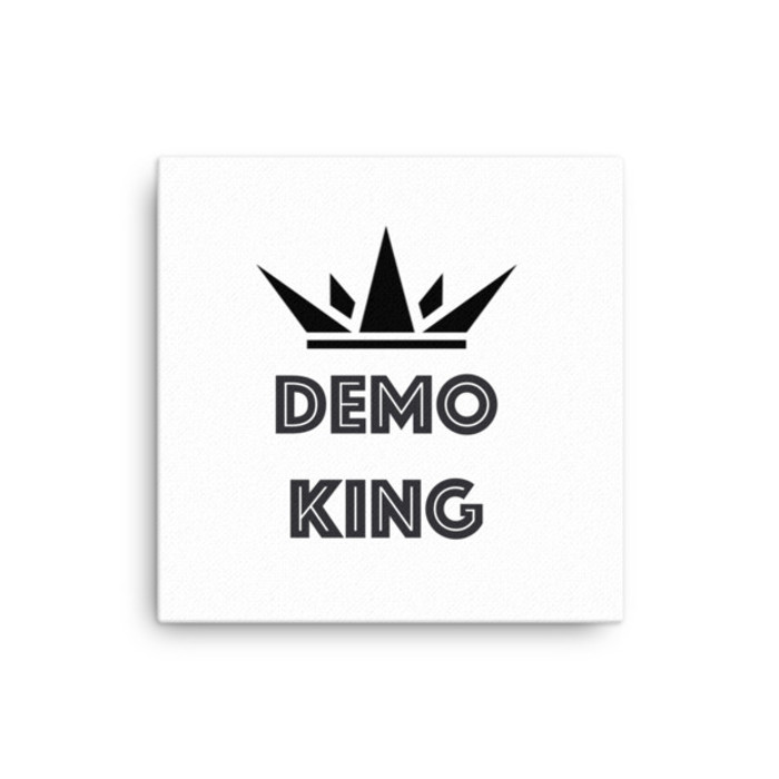 Demo King Canvas