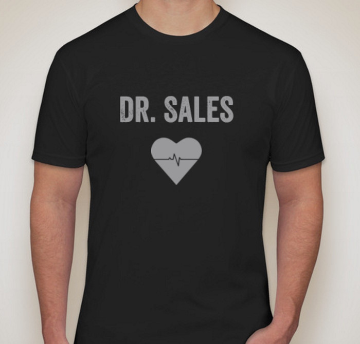 Dr. Sales Next Level Jersey T-shirt