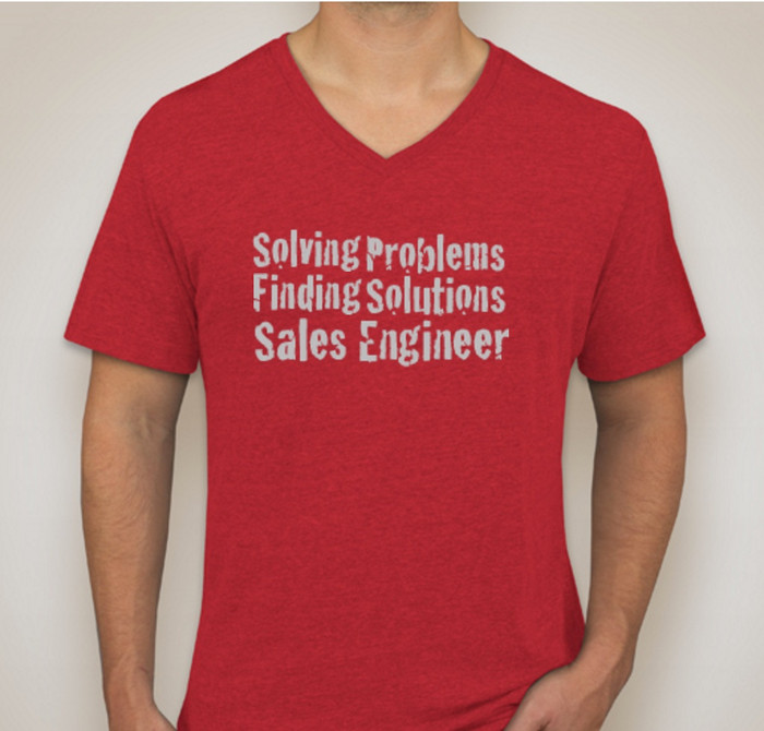 Solving Problems, Finding Solutions, Sales Engineer
