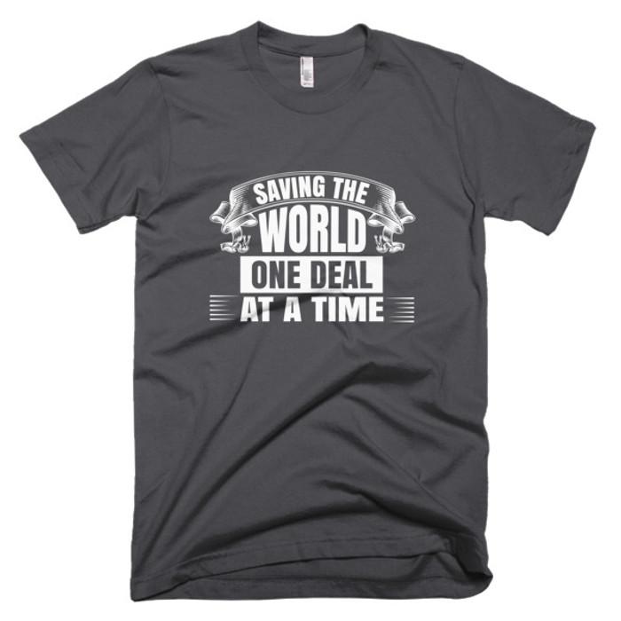 Saving the World - Short-Sleeve T-Shirt