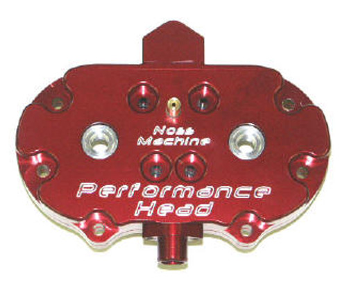 Red Anodized Noss Performance Head