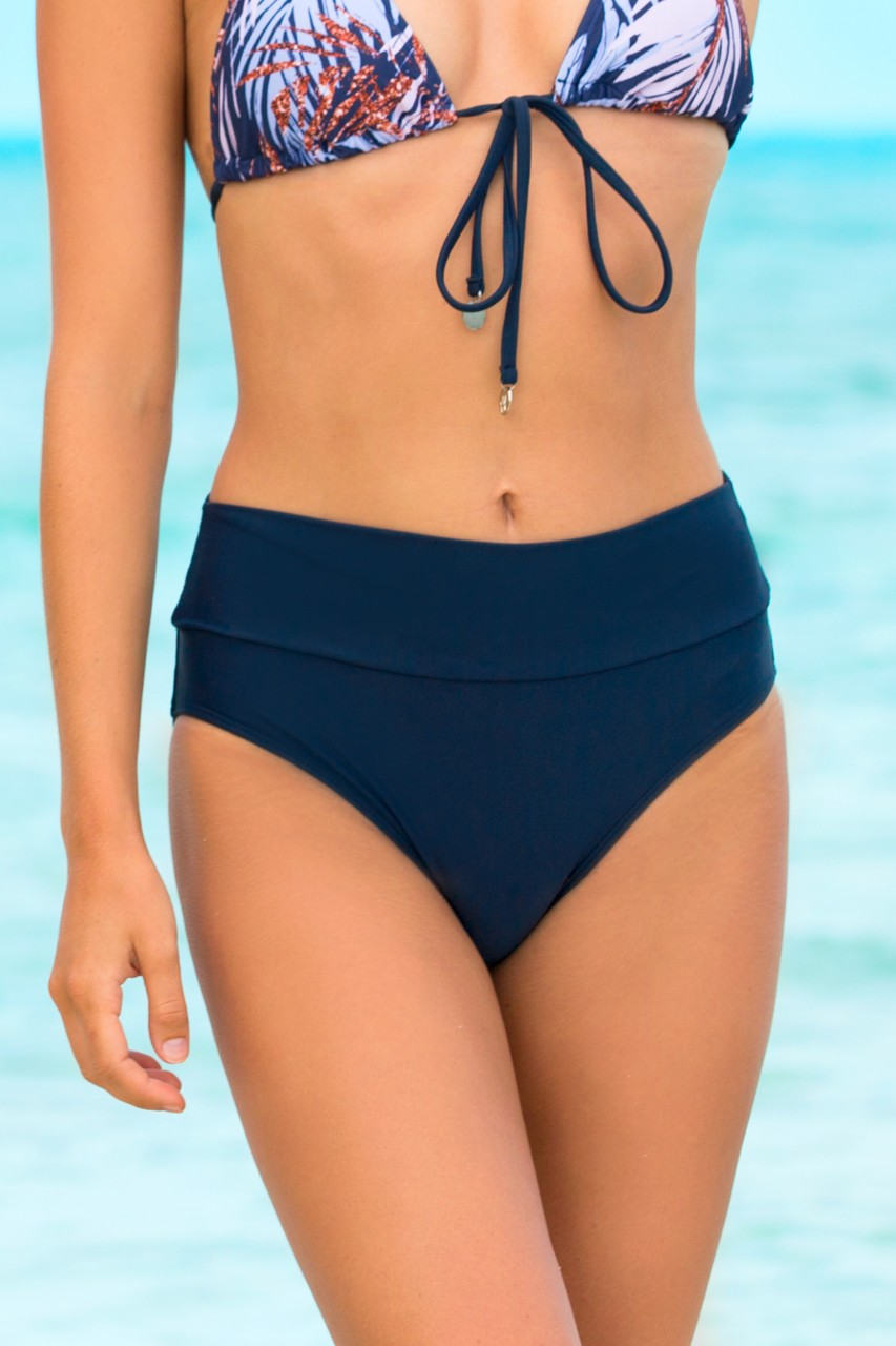 d83f40487d Navy Tummy Tuk Swim Bottom