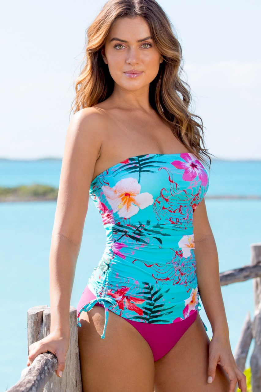 180e129ee Rio Seaside Tankini Top