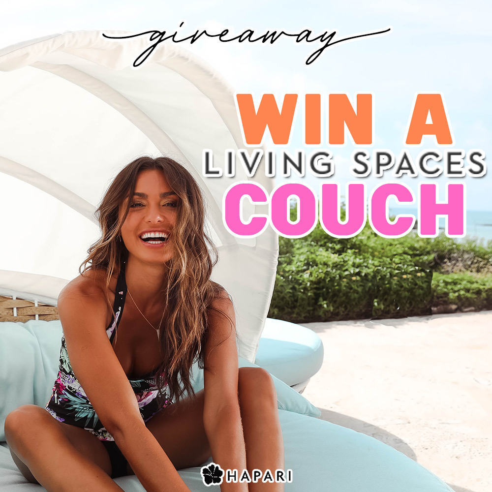 Living Spaces Couch Giveaway