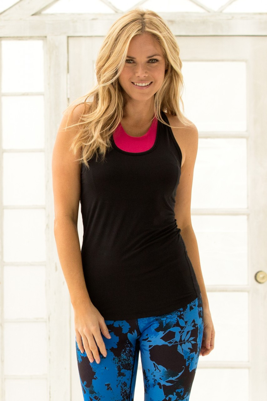 Hapari FIT Tank - Black