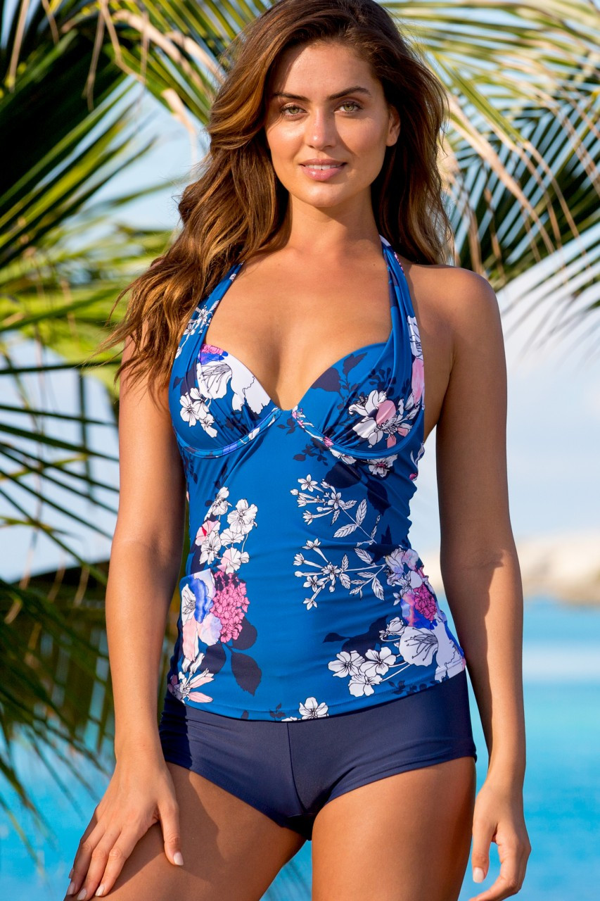 Hapari Ventana Push-Up Tankini Top
