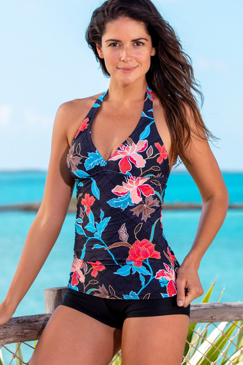 Hapari Envy V-Neck Tankini Top