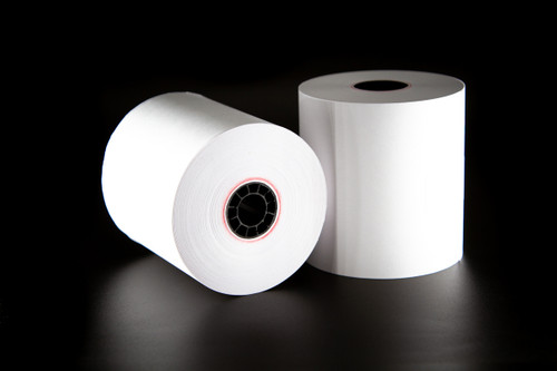 Restaurants N us 1 Ply Bond Receipt Paper Rolls 3″ x 165′