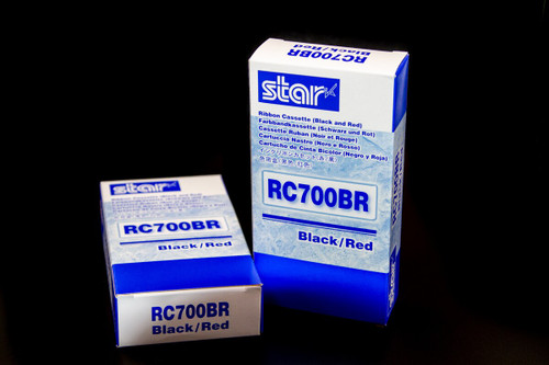 Star Micronics RC700BR Thermal Transfer Printer Ribbon - Box of 1 Ink