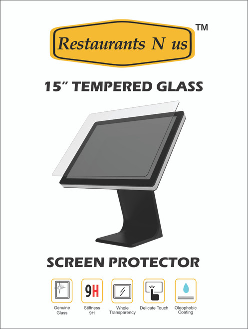 "15"" Glass Screen protector for Touch Dynamic"