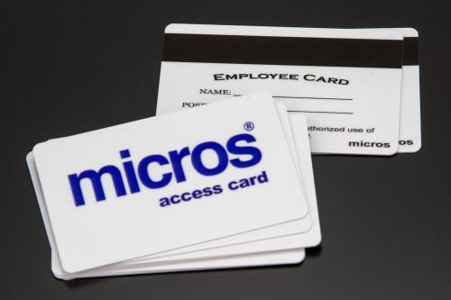 Micros POS EMP swipe cards
