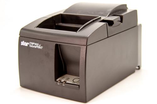 Star Micronics TSP100 Thermal Receipt Printer, Black, USB W/Power Cord