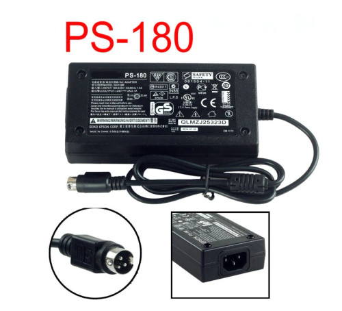 Epson POS Receipt Printer M235B M159D Power Supply ac Adapter Cord Cable Charger