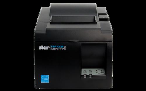 Star Micronics Thermal Printer TSP143IIIW GY US - WLAN - Gray - Receipt Printer - 250 mm/sec - Monochrome - Auto Cutter AUTO-CUTTER WLAN GRAY WPS PUSHNCON