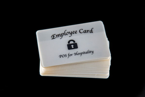 Employee Access Cards for POS with Magnetic Swipe (5 Cards Pack)