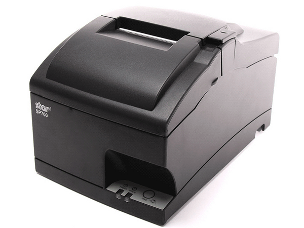 Star Micronics, SP742ME GRY US, Impact Receipt Printer With Cutter