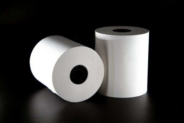 3 1/8″ X 230′ Thermal Receipt Paper Rolls - 10 Rolls