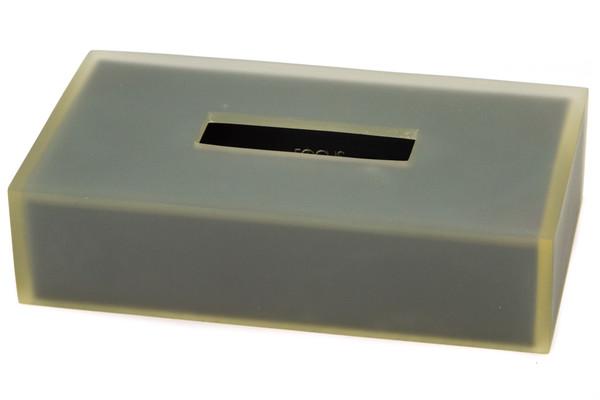 BS-SMK92 Smoke Matte Resin Flat Tissue Box Cover