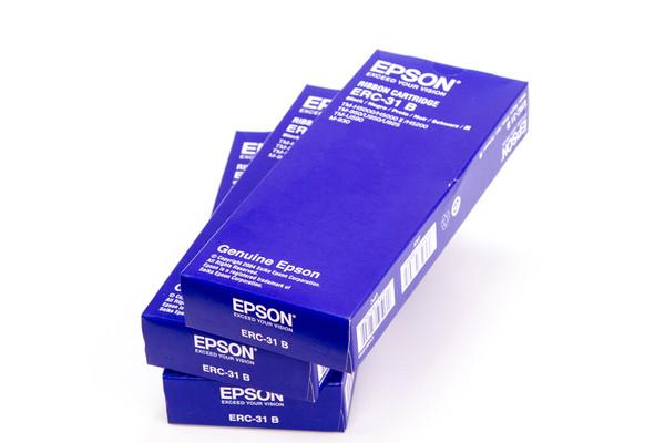 ERC-31B Epson Black Ribbon Cartridge - Dot Matrix IPOS SUPPLY