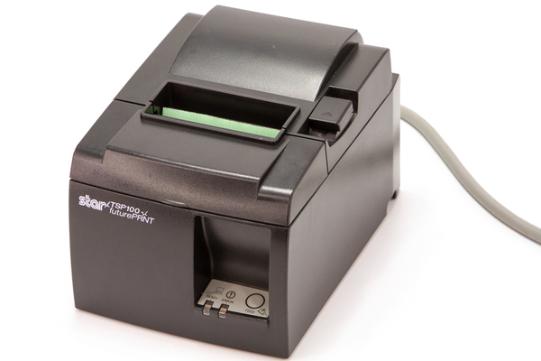 Star Micronics TSP100 Thermal Receipt Printer, Black, Ethernet Interface ipos supply
